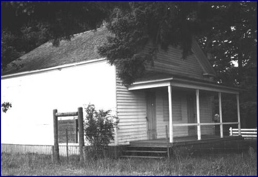 Pleasant Grove Church, 1956, Original Site